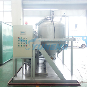 Black Tyre Oil Refining Machine