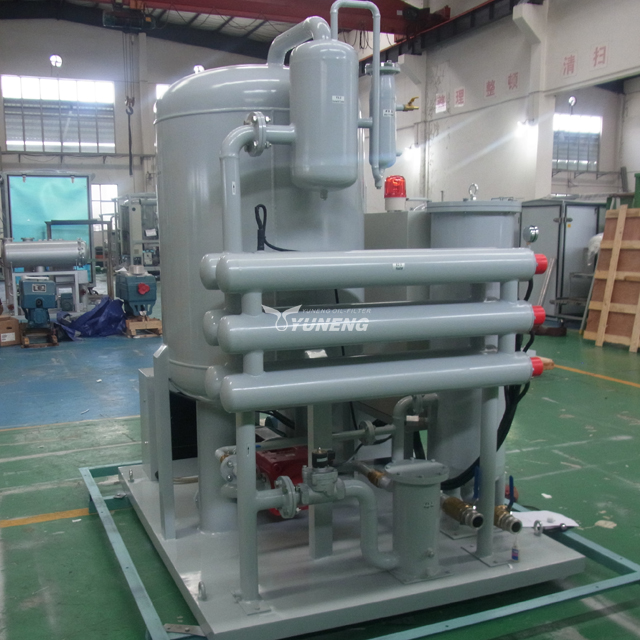 ZJC series turbine oil recycling system to improve oil's color and quality