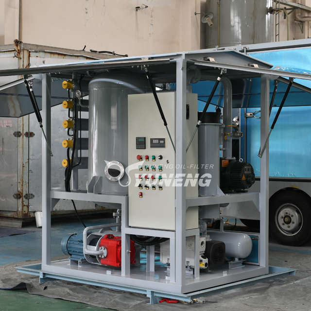 4000L/H Enclosed Type Vacuum Transformer Oil Purifier