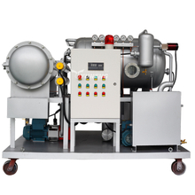 Online Coalescence and Vacuum Lubrication Oil Cleaning Equipment