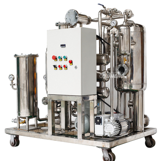 Yuneng KYJ-20 Fire Resistant Oil Filtration Machine For Power Plant